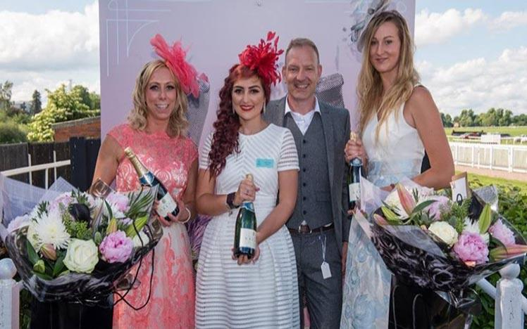 The finalists from the 2019 Ladies Day best dressed Lady competition.